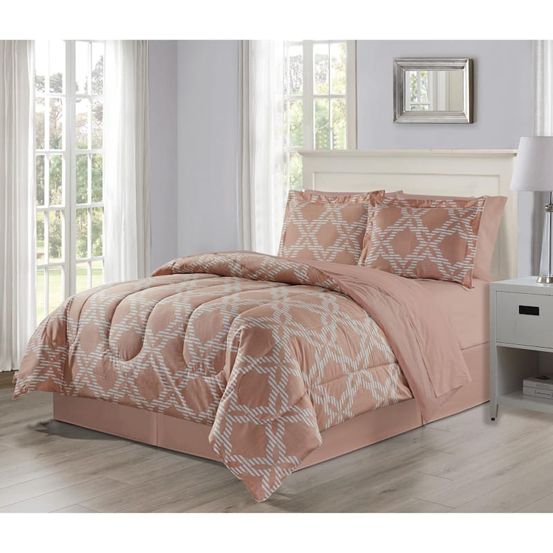 Takara Ogee 6-Piece Bed-in-a-Bag Set, King