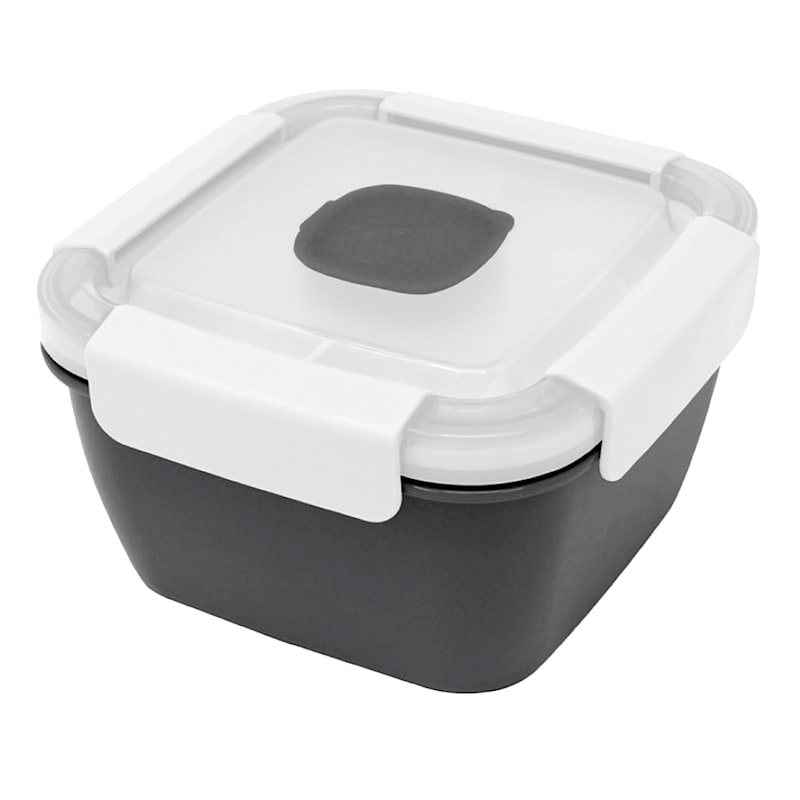 GK SM SQ LUNCH KIT W/ TRAY-GRY