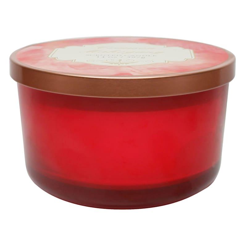 Crimson Mahogany 14oz Jar Candle