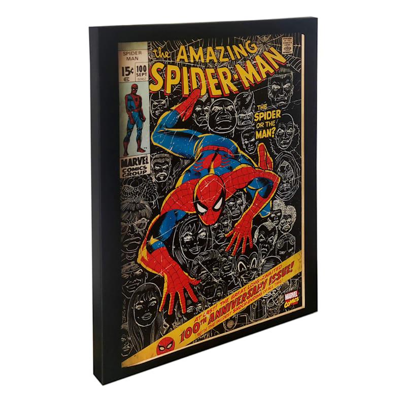 "Spider-Man Canvas Wall Art, 14"" x 18"""