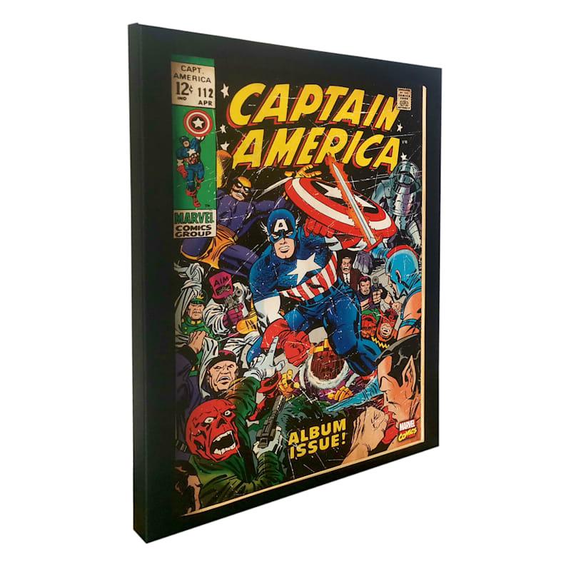 14X18 Captain America Canvas Wall Art