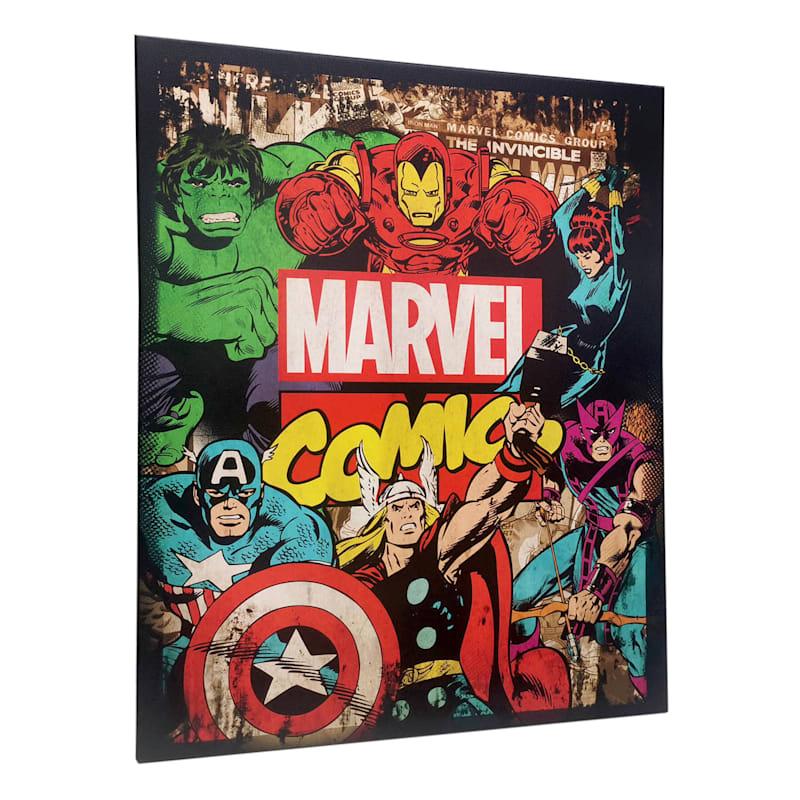 16X20 Marvel Avengers Canvas Wall Art