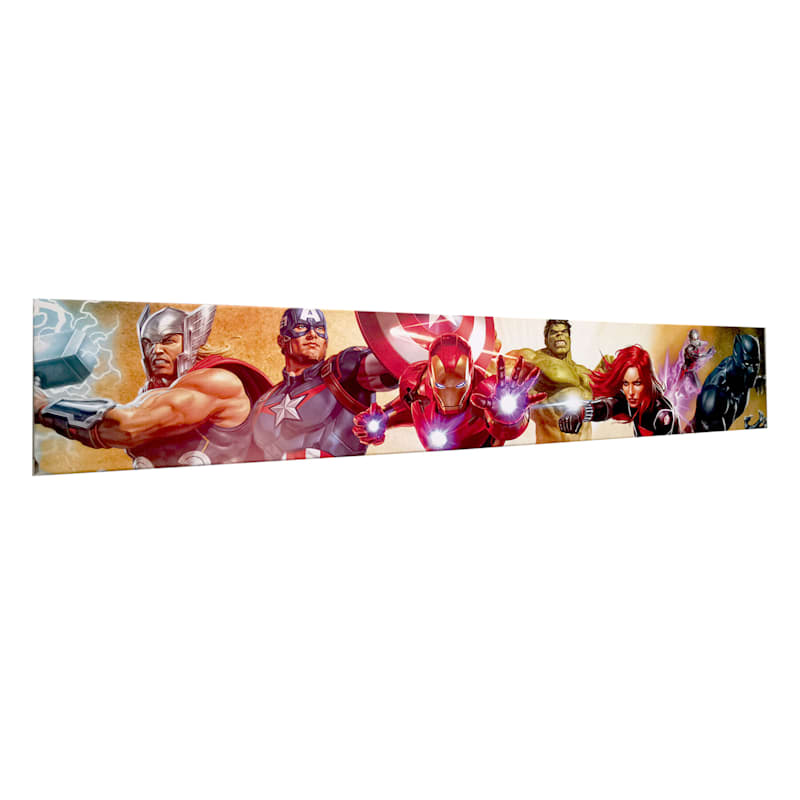 36X6 Marvel Avengers Canvas Wall Art