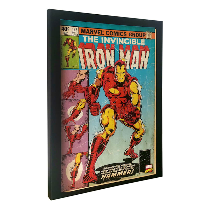 "Iron Man Canvas Wall Art, 14"" x 18"""