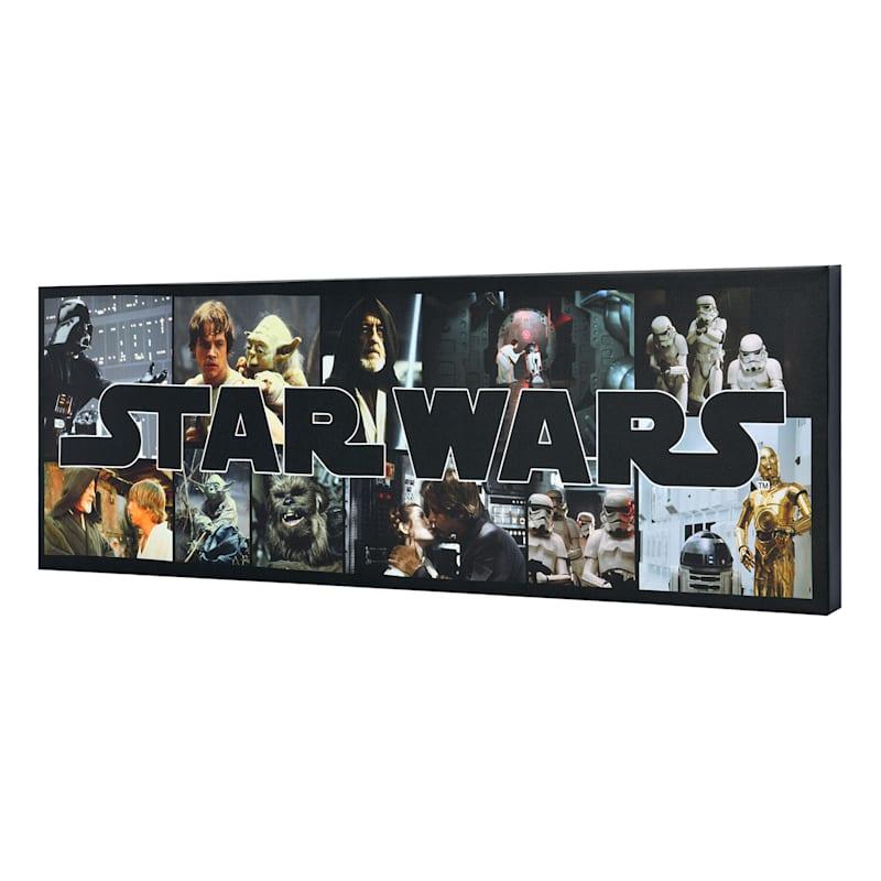 30X10 Star Wars Film Still Canvas Wall Art