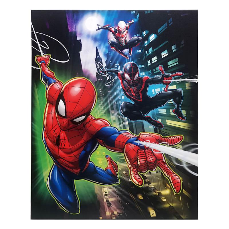 16X20 Marvel Spider-Verse Canvas Wall Art