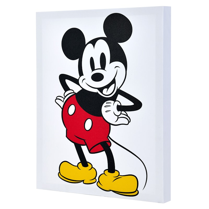 11X14 Mickey Mouse Canvas Wall Art