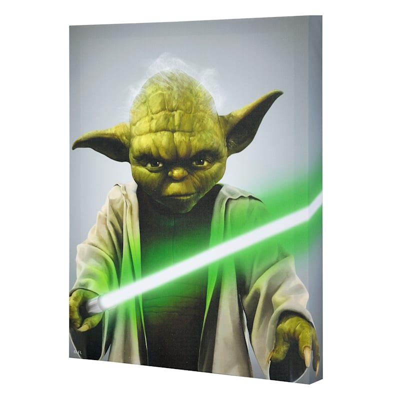 "Yoda Canvas Wall Art, 11"" x 14"""