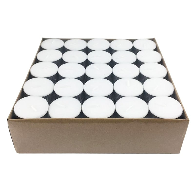 100CT TEALIGHT UNSCENTED