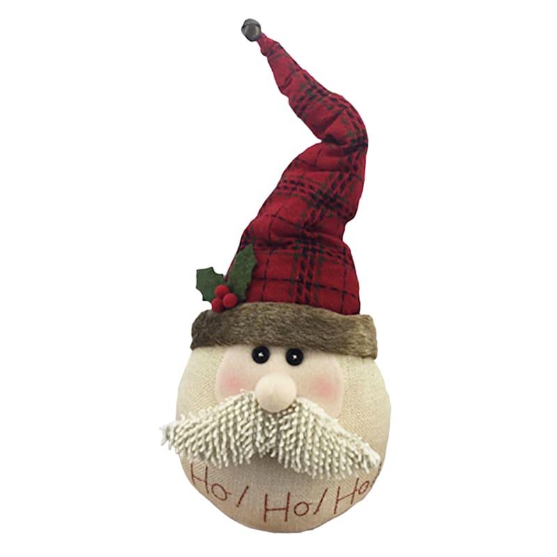 "Santa Head Decor, 15"""