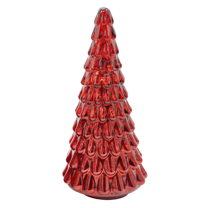 FAO Schwarz Red LED Christmas Tree, 12""
