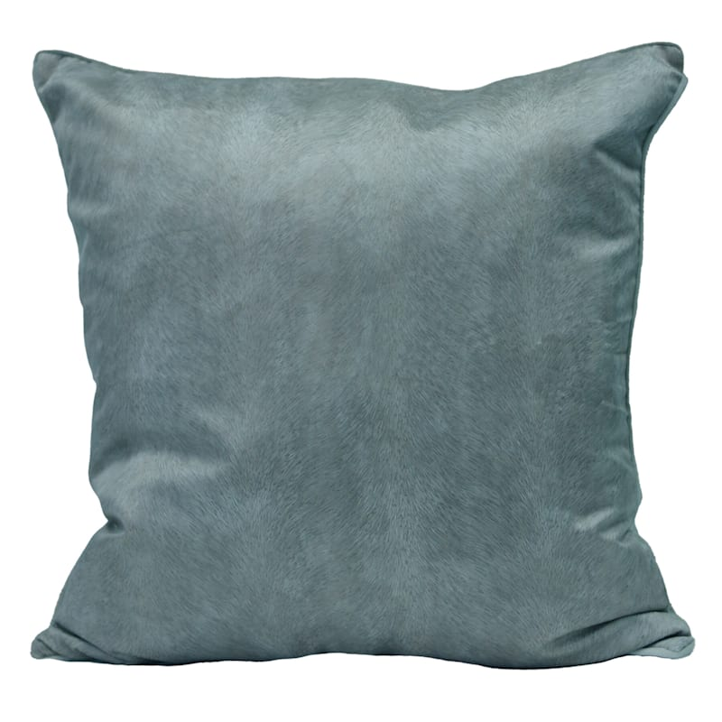 Knox Teal Velvet Pillow 22X22