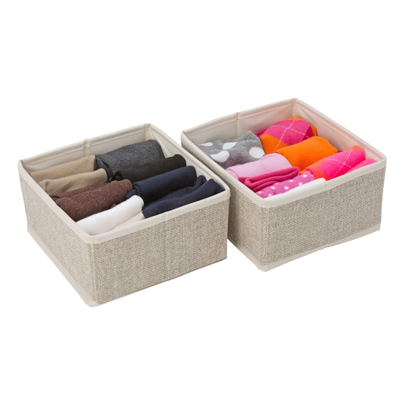 2PK SQUARE DRAWER ORG