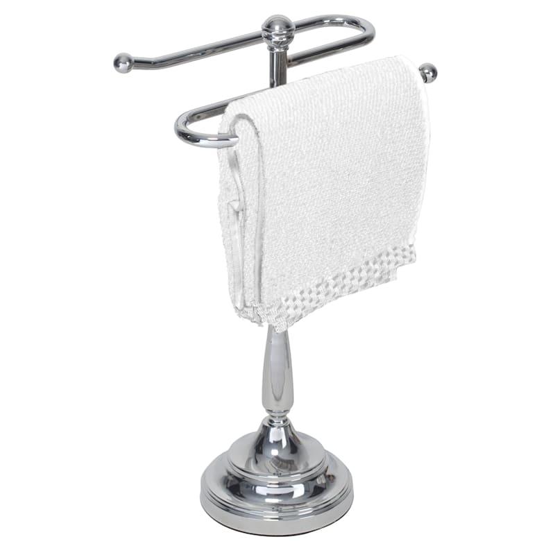 S SHAPE 2 GUEST TOWEL HOLDER