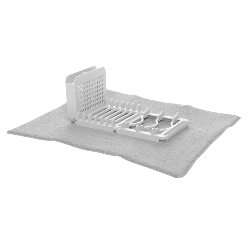 2-In-1 3 Section Drying Rack/Drying Mat
