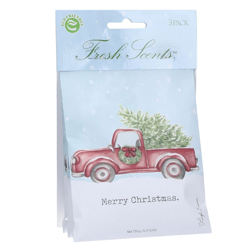 3-Pack of Merry Christmas Sachets