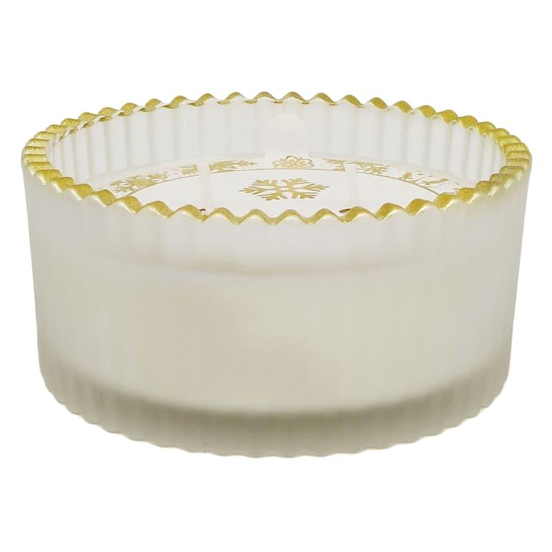 5.6OZ WHITE RIB GLASS JAR