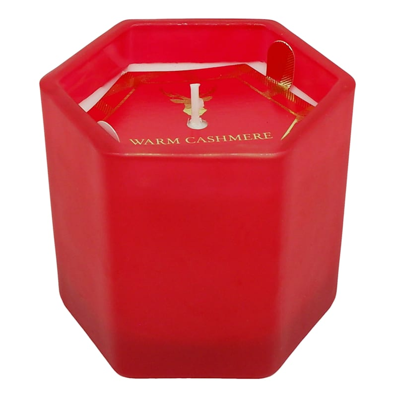 Red Cashmere Glass Jar Candle, 6.7oz