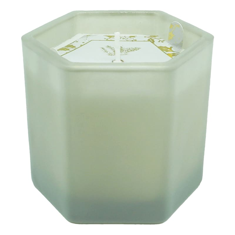 Festive Evergreen Glass Jar Candle, 6.7oz