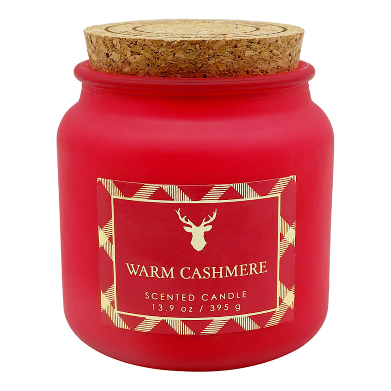 Warm Cashmere Cork Lid Candle, 13.9oz