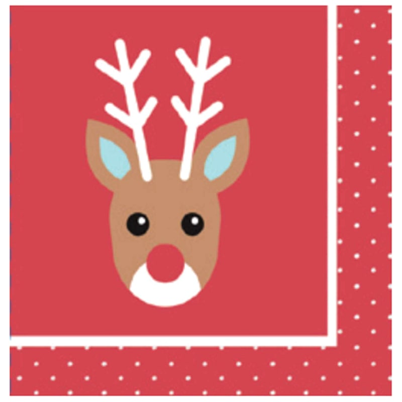 Rudolph Lunch Napkins