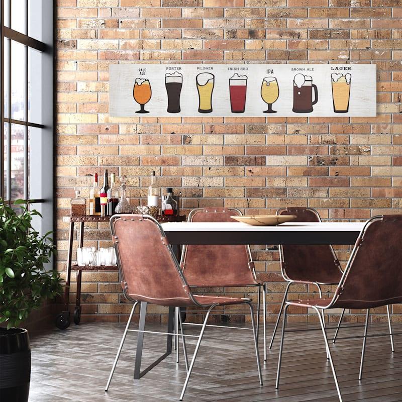 36X7 Beer Wall Art