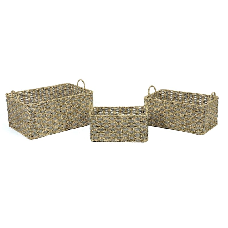 Seagrass Rope Basket