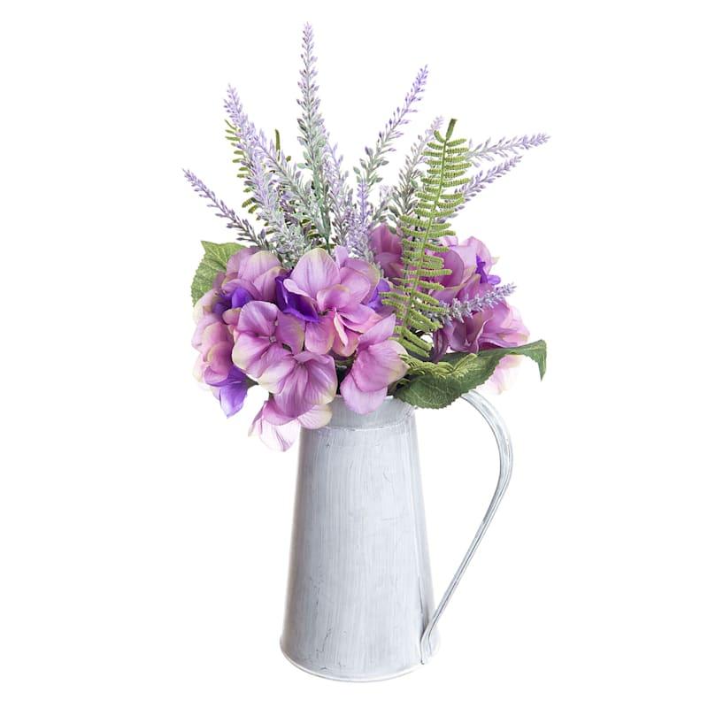 Hydrangea/Lavender Pitcher