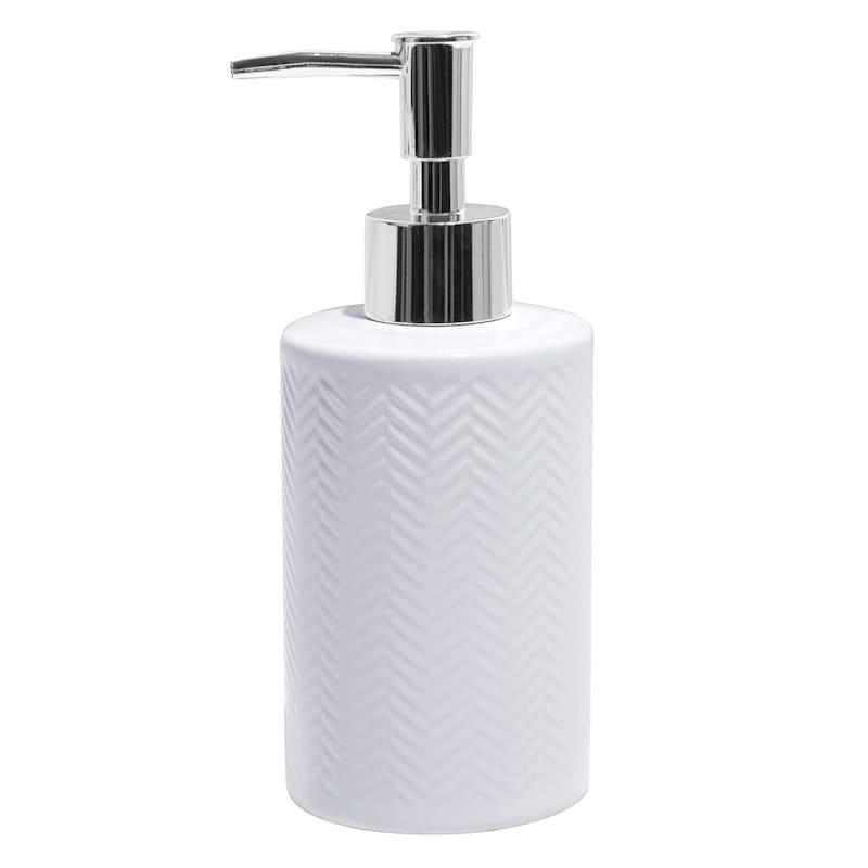 White Ceramic Bath Pump
