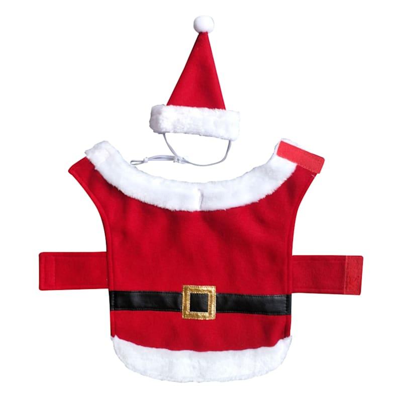 Santa Pet Costume, Small