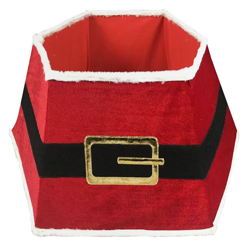"Santa's Belt Tree Collar, 26"""