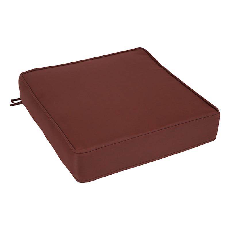 Beet Red Outdoor Premium Deep Seat Cushion