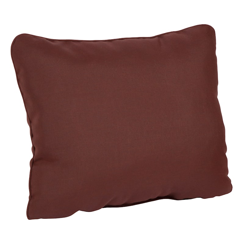 Beet Red Outdoor Premium Corded Back Cushion