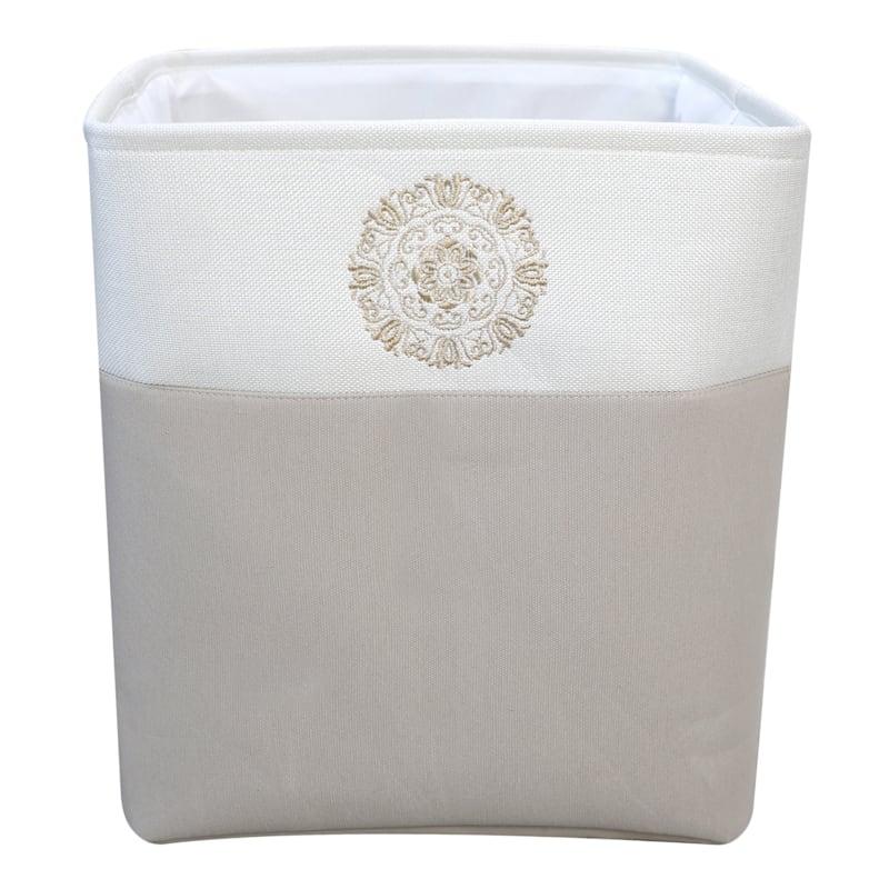 Large Rectangular Fabric Storage Bin