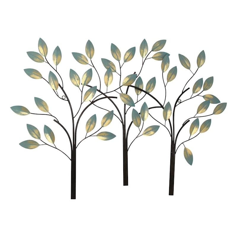 38X27 METAL TREES