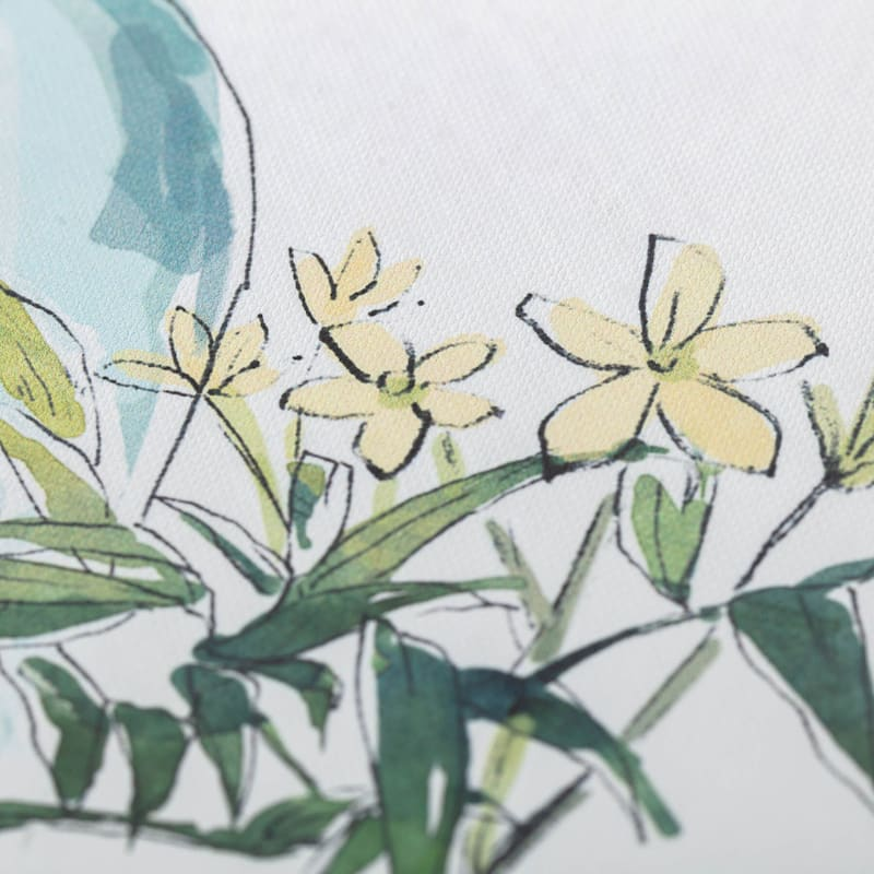 16X20 Flowers In Vase Canvas Art