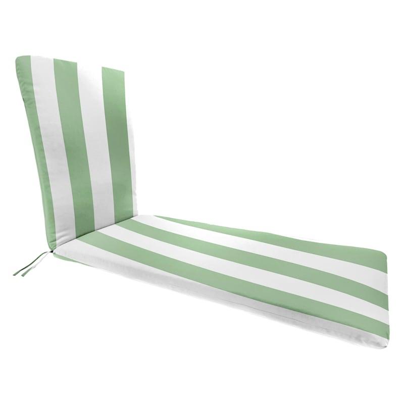 Aloe Awning Stripe Outdoor Chaise Lounge Basic Cushion