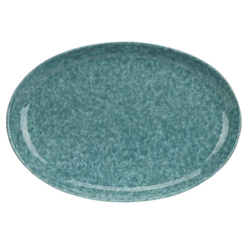 Italian Farmhouse Splatterware Large Oval Platter