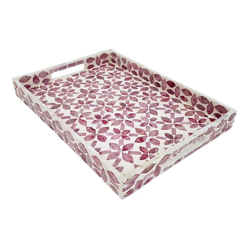Tracey Boyd 16X12 Pink Tray