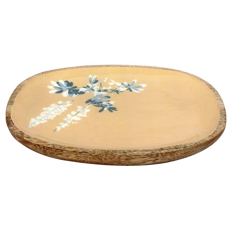 8X6 Yellow Wood Trinket Tray