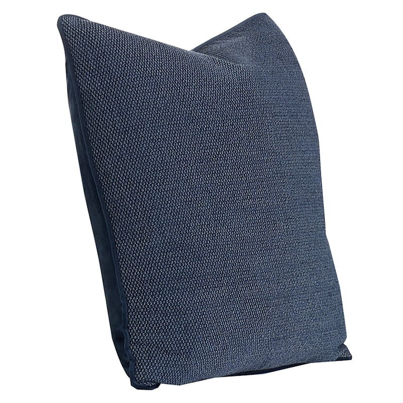 20IN ELLE PILLOW BLUE