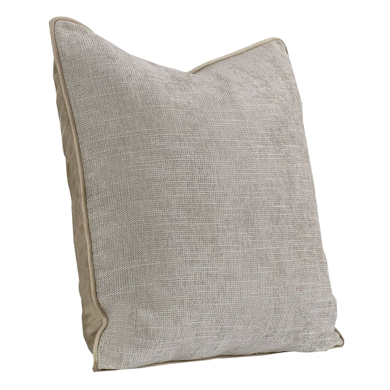 20IN BROOKE PILLOW SILVER