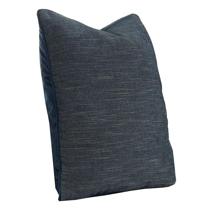 20IN BROOKE PILLOW CHARCOAL