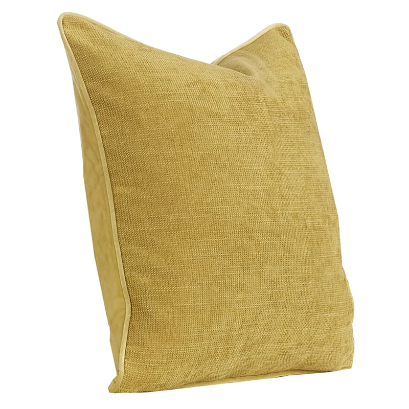 20IN BROOKE PILLOW YELLOW