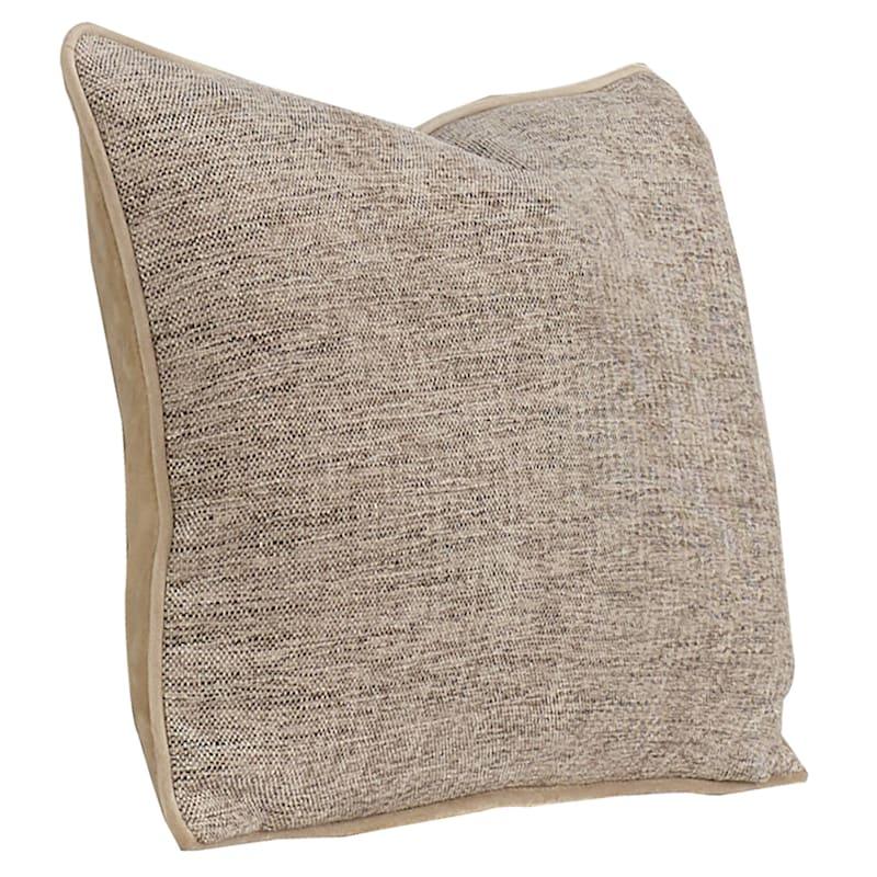 "Grace Brown Pillow, 14"" x 20"""