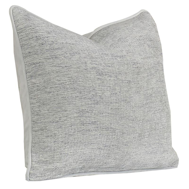 Grace Oblong Throw Pillow, Light Grey