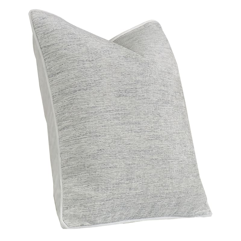 24IN GRACE PILLOW L.GREY