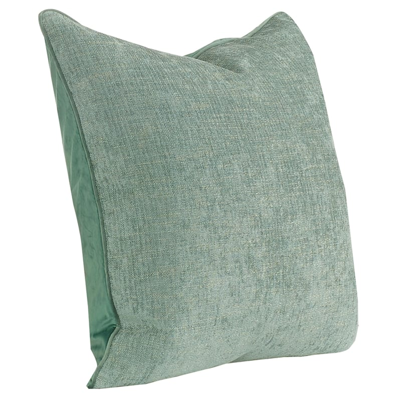 "Grace Green Pillow, 24"" x 24"""