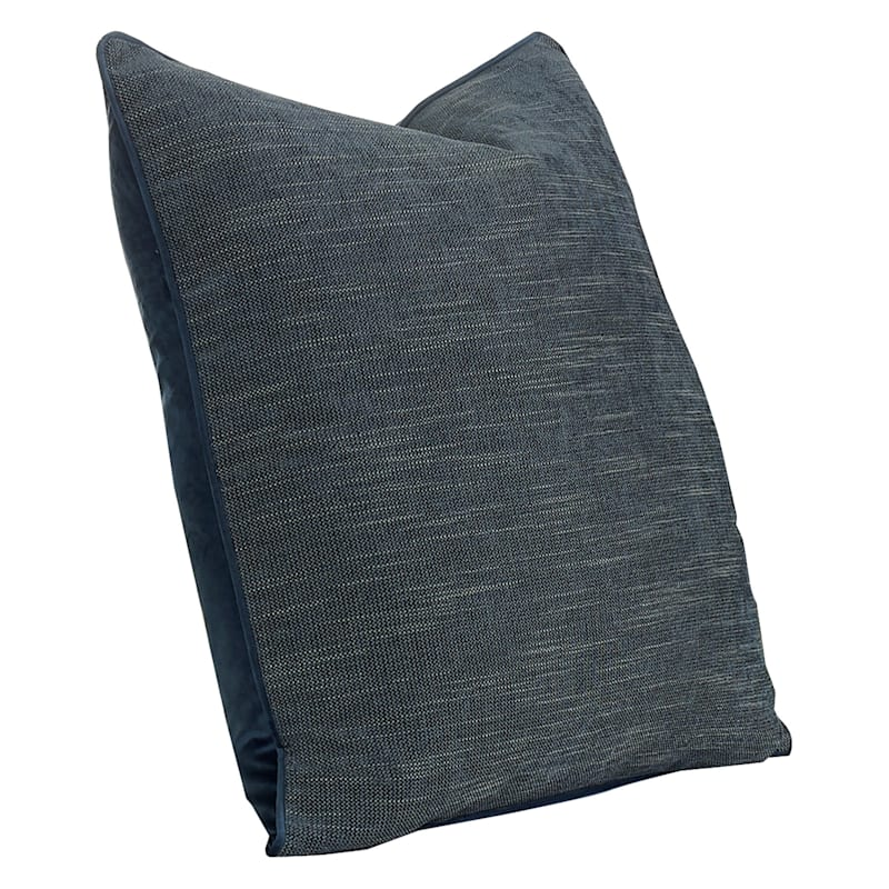 24IN BROOKE PILLOW CHARCOAL