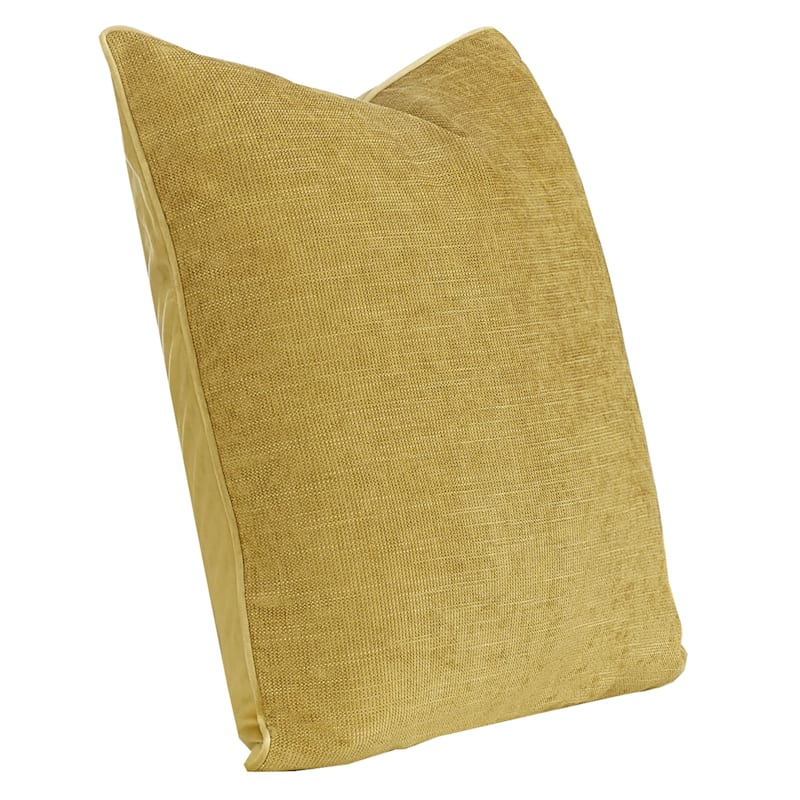 24IN BROOKE PILLOW YELLOW